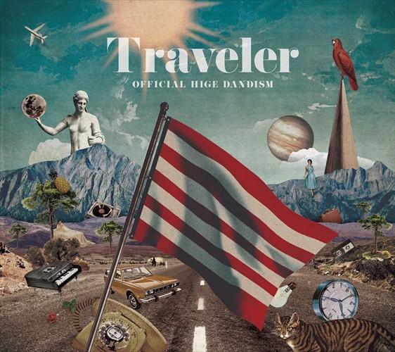 (おまけ付)Traveler(通常盤) / Ofiicial髭男dism ...
