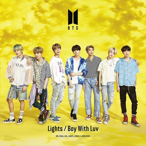 (おまけ付)2019.07.03発売 Lights/Boy With Luv(...