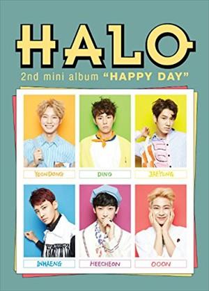 2ND MINI ALBUM : HAPPY DAY / HALO ヘイロー(輸...