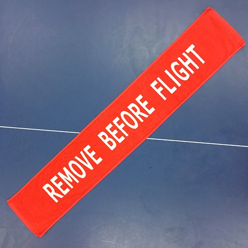 REMOVE BEFORE FLIGHT フライトタグ マフラータオ...