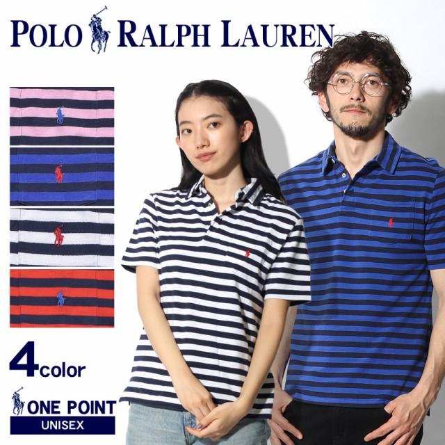 8792e57c66e0c POLO RALPH LAUREN ポロ ラルフローレン ポロシャツ ワンポイント ボーダー ポロシャツ