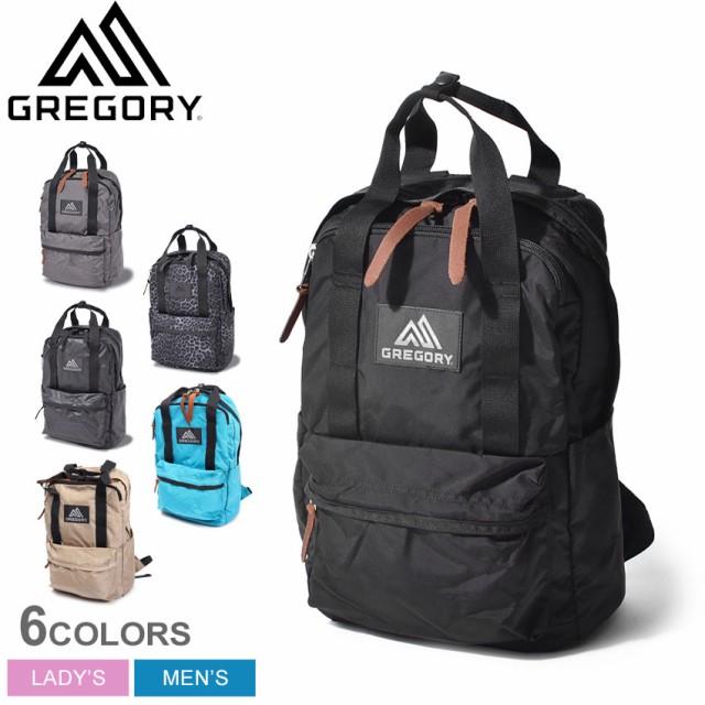 グレゴリー リュックサック レディース メンズ イージーピージーデイ バックパック ブラック 黒 グレー GREGORY 103868 鞄 ボックス ディ