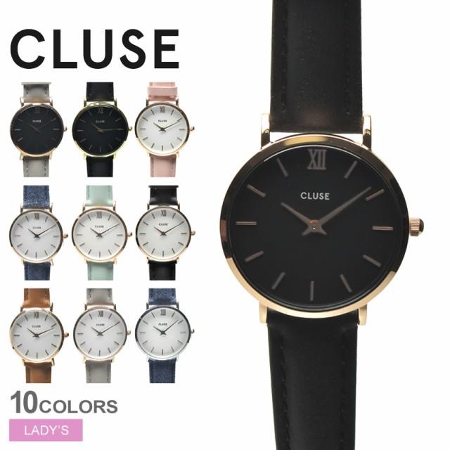 クルース CLUSE 腕時計 ウォッチ レディース ミニュイ 33 レザーベルト ギフト MINUIT 33 LEATHER【ラッピング対象外】