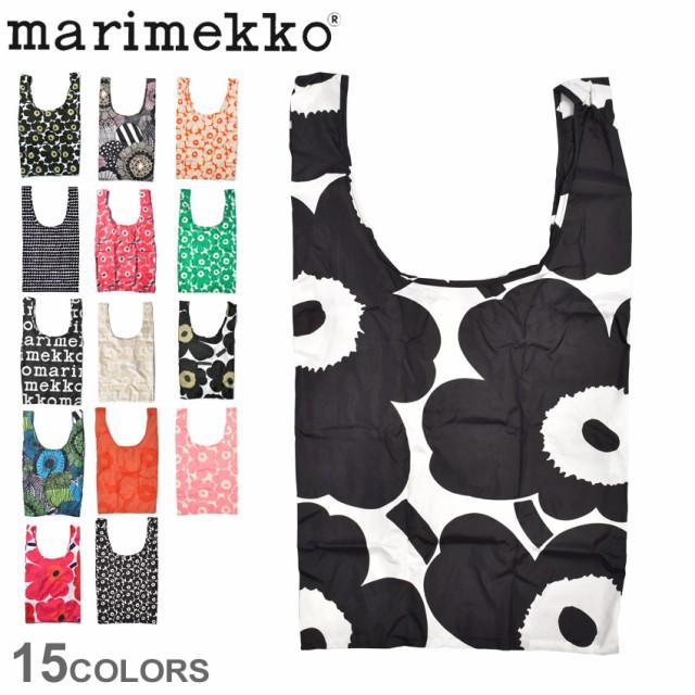 【ゆうパケット可】マリメッコ バッグ  エコバッグ MARIMEKKO SMART BAG かばん ストライプ ドット 花柄 北欧 おしゃれ 買い物袋 トート