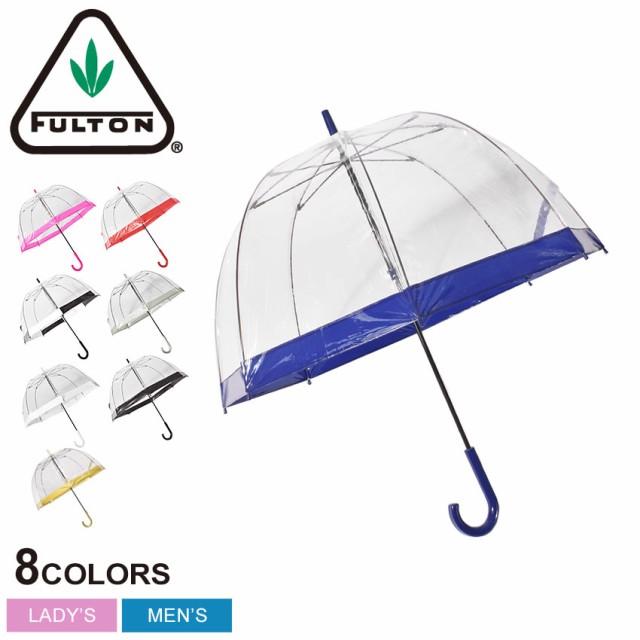 フルトン 傘 長傘 雨具 ビニール傘 かわいい おしゃれ ブランド レディース FULTON BIRDCAGE1 L041