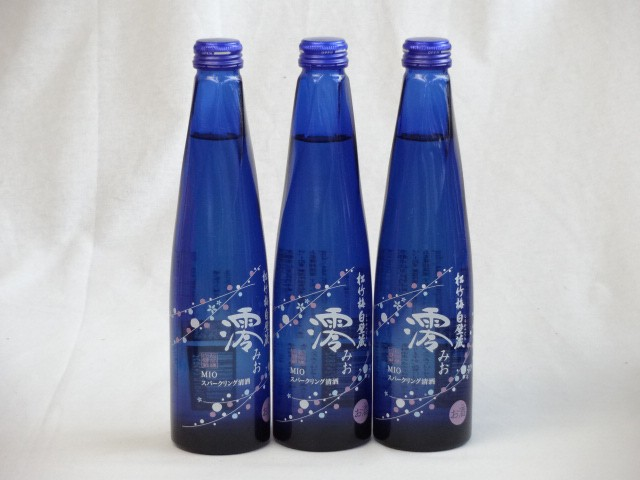 スパークリングパーティ3本セット日本酒スパーク...