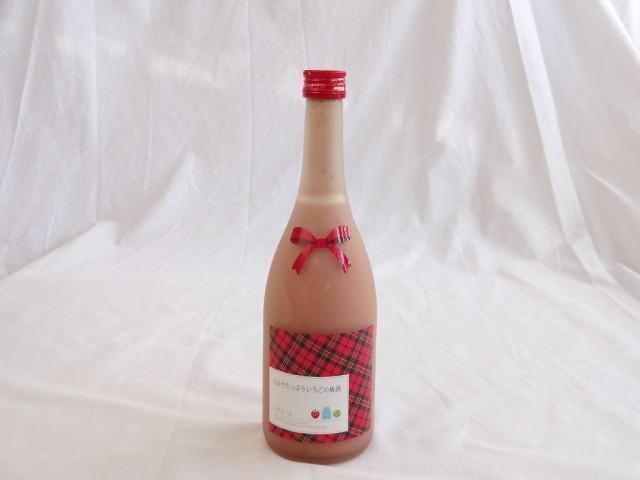 ミルクたっぷりいちごの梅酒 研醸 720ml