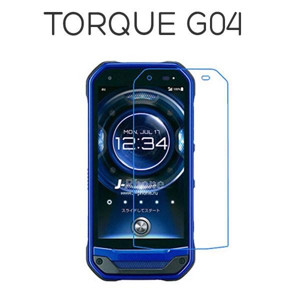 TORQUE G04 フィルム 強化ガラス 液晶保護フィル...