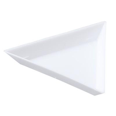 白/三角トレー