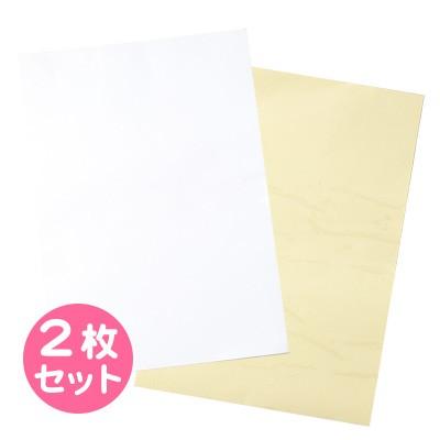 白&透明/手作りシールセット