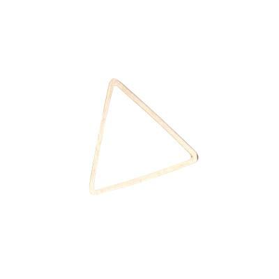 金シンプル三角フレーム/レジン用ベースパーツ