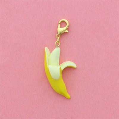 黄色/バナナのジッパーチャーム
