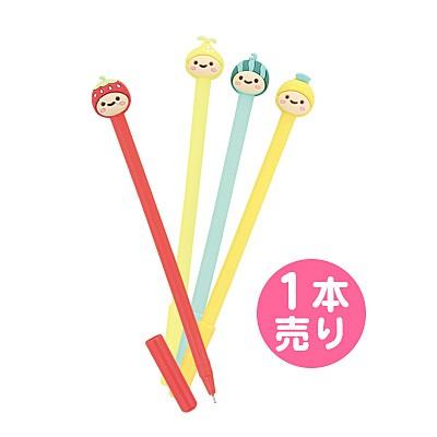 フルーツモチーフかぶりものペン/1本売り