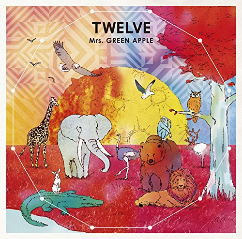 【CD】TWELVE/Mrs.GREEN APPLE [UPCH-20411] ミセ...