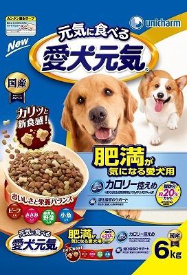 愛犬元気肥満が気になる愛犬用6.0kg