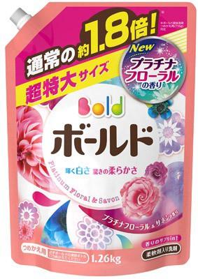 ボールド 香りのサプリin 柔軟剤入り洗剤 液体...