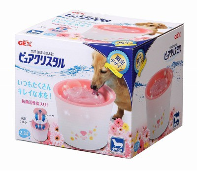 ピュアクリスタル 小型犬用 ガーリーピンク