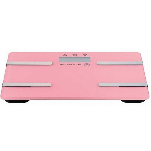 コンパクト体重計 ピンク