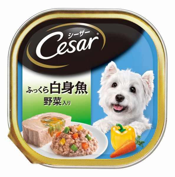 シーザー ふっくら白身魚 野菜入り 100g