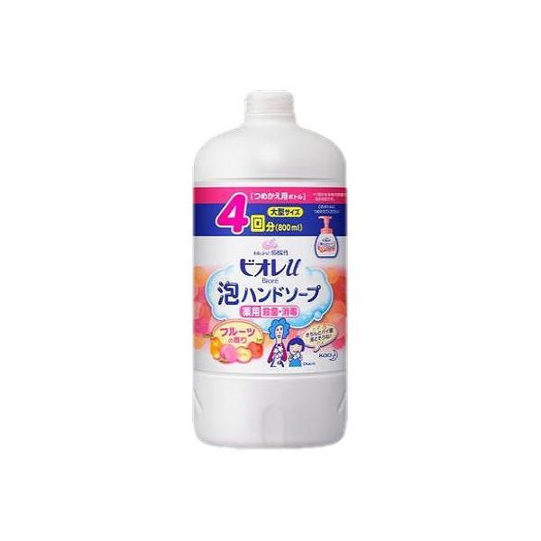 ビオレu泡ハンドソープ フルーツ詰替 800M...