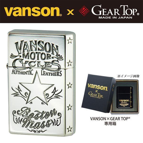 送料無料 オイルライター vanson×GEAR TOP V-GT-...