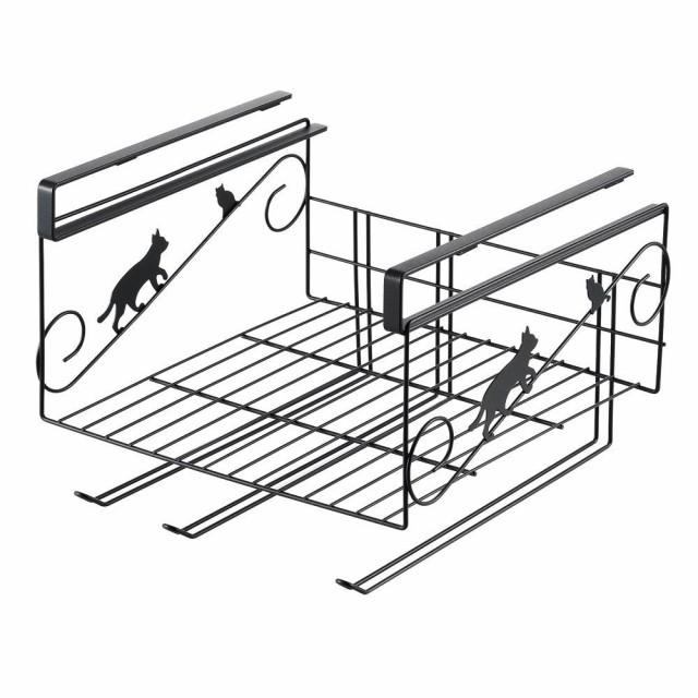 送料無料 ネコの吊り戸棚下ラック 1305716
