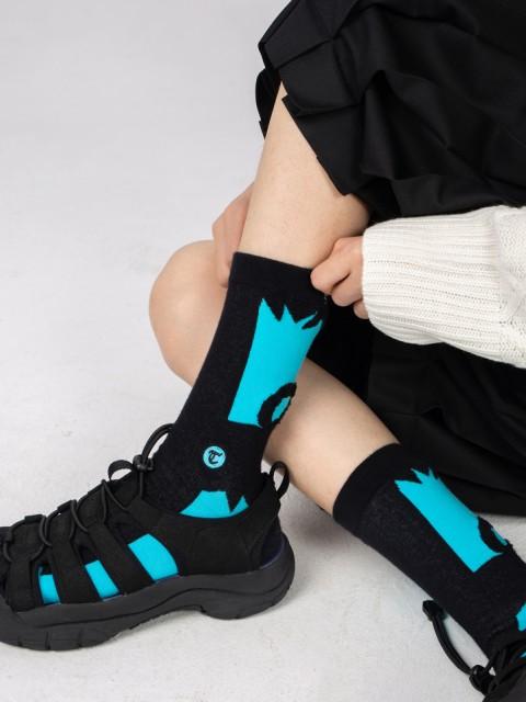ユニークなソックス クルーソックス 靴下 抗菌 防...