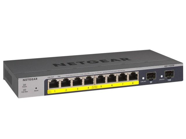 NETGEAR ネットワークハブ GS110TP-300AJS