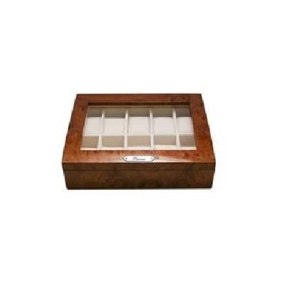 木製時計収納ケース 10本収納 ブラウン 189963 茶...