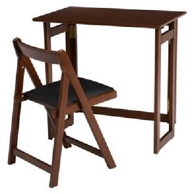 折りたたみデスク (テーブル 机) &チェア (イス ...