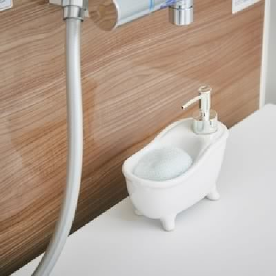 ソープディスペンサー「bathtub(バスタブ)」ホ...
