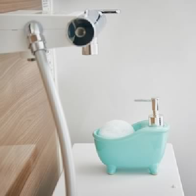 ソープディスペンサー「bathtub(バスタブ)」ブ...