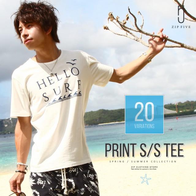 【17002-11nz】Tシャツ メンズ/クルーネック カッ...