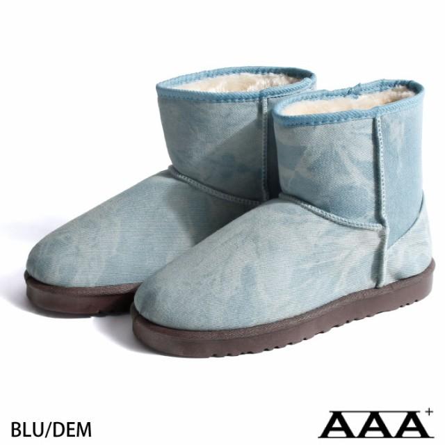 【2319】ムートンブーツ メンズ/靴 ボア ムートン...