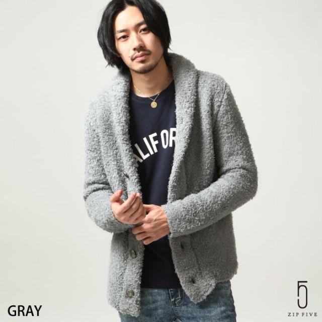 【67830】カーディガン メンズ/ニットカーディガ...