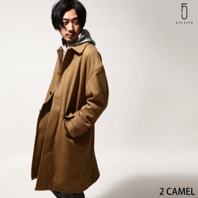 【br8008】ステンカラーコート メンズ/ステンカラ...