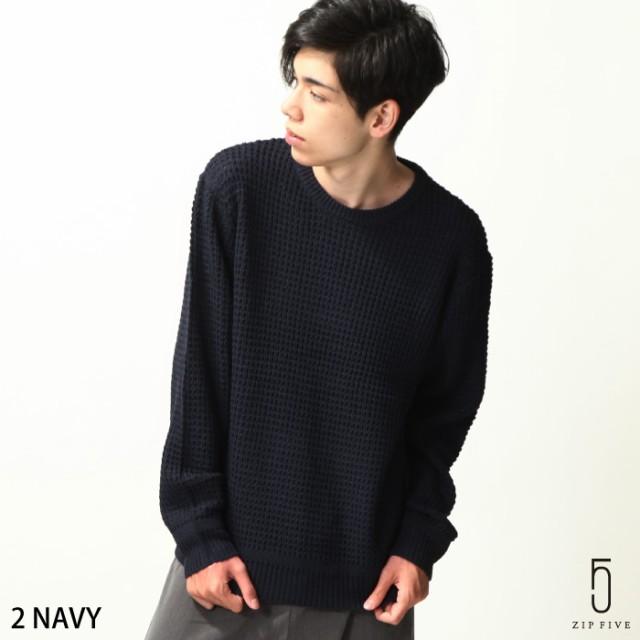 【zp317301】クルーネックニット メンズ/ニット ...