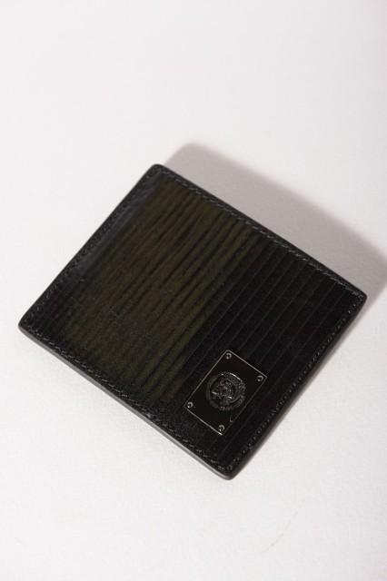 """【送料無料】ディーゼル【DIESEL】カードケース/""""ROCKKSTEADD"""" JOHNAS I -(X03262 P0093)ブラック【アウトレット】"""