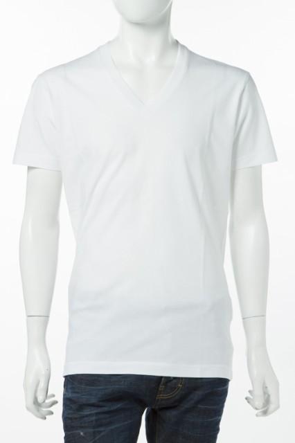 2017年春夏新作 ディースクエアード DSQUARED2 Tシャツ メンズ (S74GD0198S20694)ホワイト