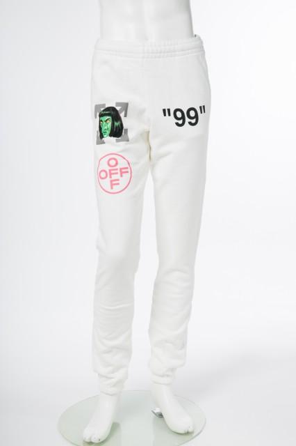 【史上最も激安】 オフホワイト B97002) OFF-WHITE スウェットパンツトレーナーパンツ オフホワイト ホワイト メンズ (CH014R19 メンズ B97002) 送料無料 2019年春夏新作, Swing Kids:196ce4f5 --- buergerverein-machern-mitte.de