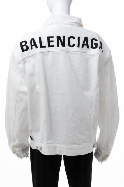 使い勝手の良い バレンシアガ BALENCIAGA 送料無料 Gジャン レディース デニムジャケット ホワイト レディース (571449 TDW04) 送料無料 バレンシアガ 2019年春夏新作, 印南町:23b25353 --- buergerverein-machern-mitte.de