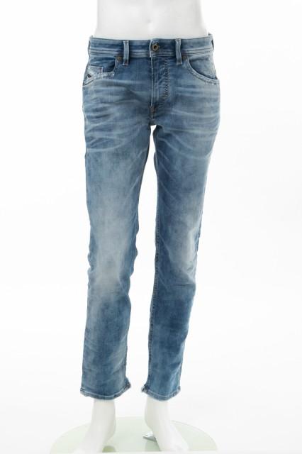 【使い勝手の良い】 ディーゼル DIESEL ジーンズパンツ デニム ダメージデニム クラッシュデニム THOMMER-T Sweat jeans ブルー メンズ (00SE3D 087AC) 送料, 永平寺メガネ bb87a438