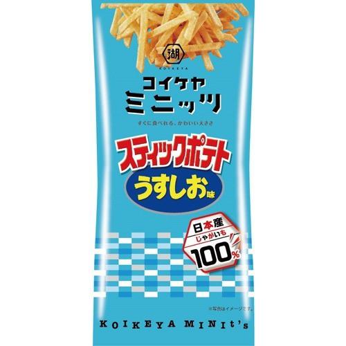 湖池屋 スリムバッグ スティックポテト うすしお味(40g)(発送可能時期:1週間-10日(通常))[スナック菓子]