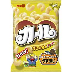 明治カール うすあじ(68g)(発送可能時期:1週間-10日(通常))[スナック菓子]