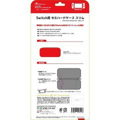 アンサー Switch用 セミハードケース スリム(レッド) ANS-SW007RD(1コ入)(発送可能時期:1週間-10日(通常))[おもちゃ ゲーム ホビー]