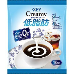 キーコーヒー クリーミー低脂肪ポーション(18コ入)(発送可能時期:1週間-10日(通常))[コーヒー その他]