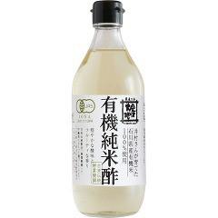 金沢大地 有機純米酢(500mL)(発送可能時期:2週間以上)[食酢]
