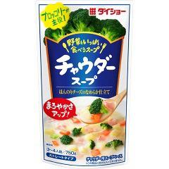 ダイショー 野菜をいっぱい食べるスープ チャウダースープ(750g)(発送可能時期:1週間-10日(通常))[つゆ]
