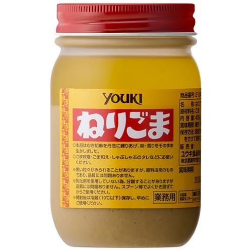 ユウキ食品 業務用 ねりごま(400g)(発送可能時期:3-7日(通常))[胡麻(ごま)・豆]