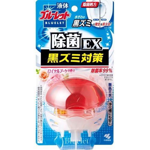 液体ブルーレットおくだけ 除菌EX 黒ズミ対策 ロイヤルブーケの香り(70mL)(発送可能時期:3-7日(通常))[芳香洗浄剤 設置タイプ]